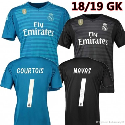 Maillot Domicile Real Madrid Courtois