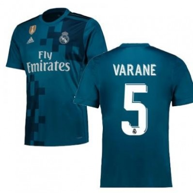 Maillot THIRD Real Madrid Varane