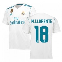 Maillot Domicile Real Madrid M. Llorente