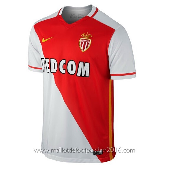 Maillot Domicile AS Monaco rabais