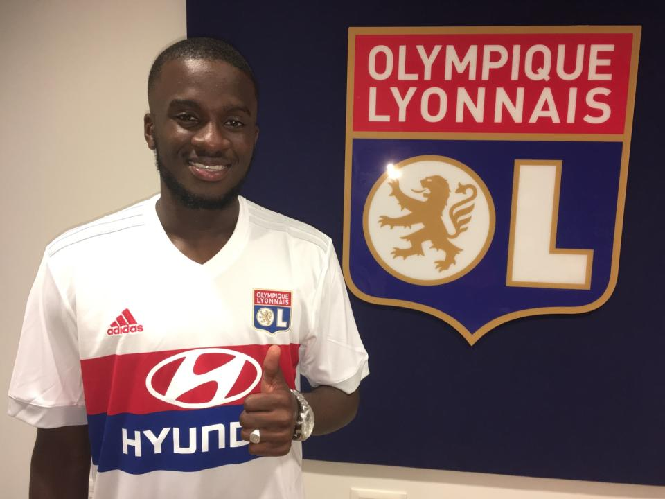 Maillot Extérieur OL Tanguy NDOMBELE