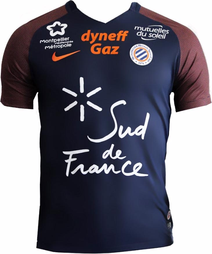 Maillot MONTPELLIER 2017
