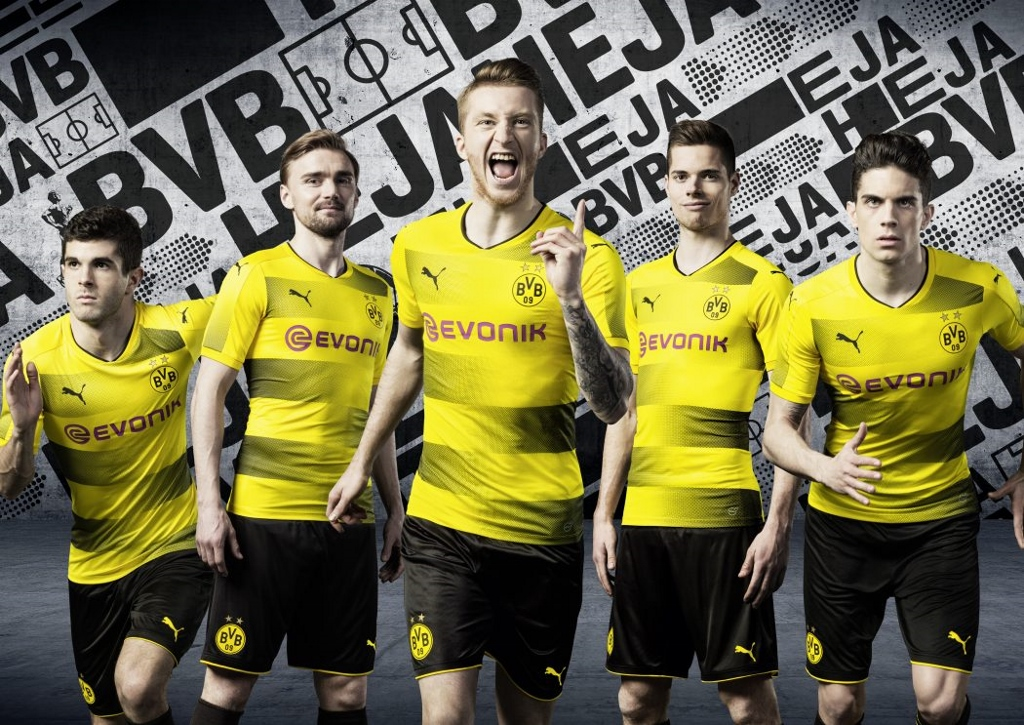 ensemble de foot Borussia Dortmund Tenue de match