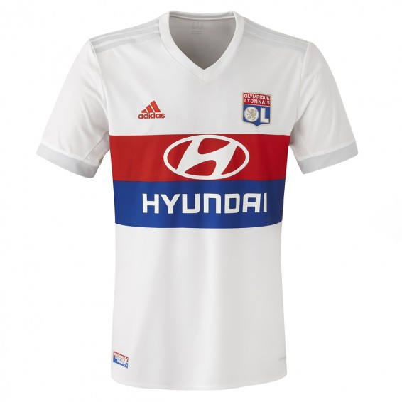 maillot entrainement OL soldes